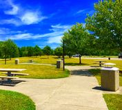 Picnic Area. A picnic area Royalty Free Stock Photo