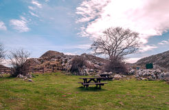 Picnic area Stock Photo