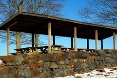 Free Picnic Area In Brandywine Creek State Park Royalty Free Stock Photos - 113400588