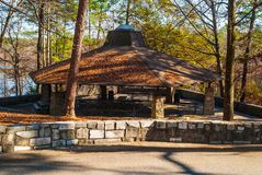 Free Picnic Area In Stone Mountain Park, USA Stock Image - 106687901