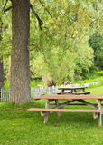 Picnic Area Landscape Royalty Free Stock Photography