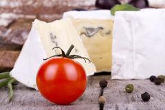 Picnic background with  food Stock Photography