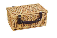 Picnic basket. Royalty Free Stock Photo