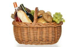 Picnic basket. Stock Photo
