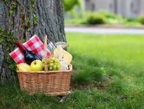 Free Picnic Basket Royalty Free Stock Photography - 40792547