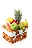 Picnic basket Royalty Free Stock Images