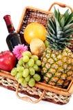 Picnic basket Royalty Free Stock Photo
