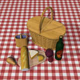 Picnic Basket Royalty Free Stock Image
