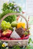 Picnic basket Royalty Free Stock Photos