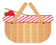 Picnic basket. Just a picnic basket for a sunny day royalty free illustration