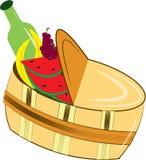 Picnic Basket Stock Image
