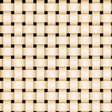 Picnic basket weave. Tan picnic basket-weave texture Royalty Free Stock Photography