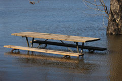 Picnic Bench Stock Photography