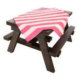 Picnic bench Stock Image