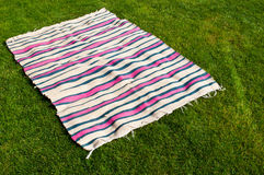Picnic blanket Royalty Free Stock Photography