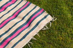 Picnic blanket Royalty Free Stock Photo