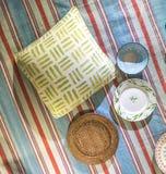 Picnic Blanket Scene Royalty Free Stock Image