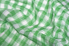 Picnic Blanket Texture Background Stock Photography