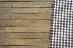 Picnic blanket top view Royalty Free Stock Image