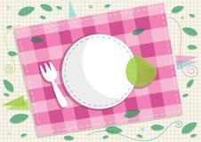 Picnic Card Design. Eps 10 Stock Photos
