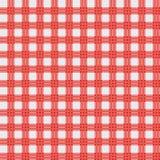 Picnic cloth. Illustration of red picnic cloth Stock Image