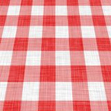 Picnic cloth. Illustration of red picnic cloth Stock Images