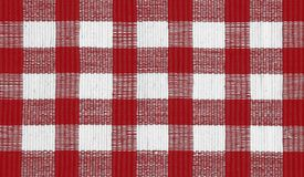 Picnic Cloth. Red checkered cloth suitable for picnic background Stock Images