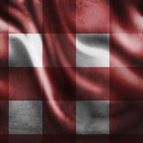 Picnic cloth. Red picnic cloth with a grunge touch Stock Image