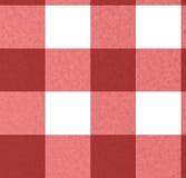 Picnic cloth. Close up of a red picnic cloth Royalty Free Stock Image