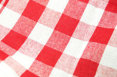 Picnic cloth background. Picnic red and white cloth texture Royalty Free Stock Photography