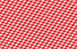 Picnic cloth. Red picnic cloth with some squares in it Stock Photos