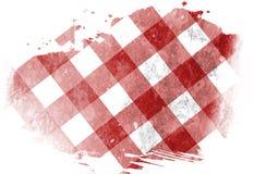 Picnic cloth Royalty Free Stock Photography