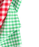 Picnic cloth traditional  menu decoration. Stock Images
