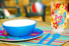 Picnic on Deck Royalty Free Stock Photo