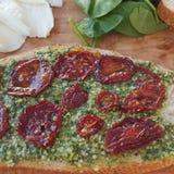 Picnic del vegetariano dell'alimento Fotografie Stock