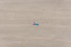 Picnic della spiaggia fotografia stock libera da diritti