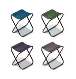 Picnic folding chairs Royalty Free Stock Images