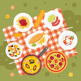 Picnic food. Catering Royalty Free Stock Photography