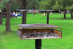 Picnic Grill Royalty Free Stock Photo
