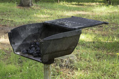 Picnic Grill Stock Photography