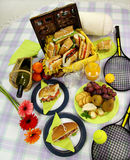 Picnic Hamper Royalty Free Stock Photos