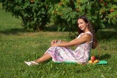At picnic Royalty Free Stock Photography