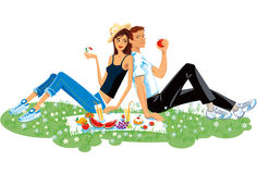 Picnic Illustration. Stock Photography