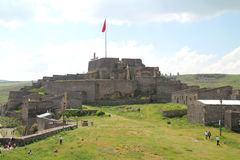 Picnic at Kars citadel Royalty Free Stock Photos