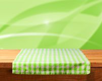 Picnic. Kitchen background outdoor cafe tablecloth cloth Stock Photo