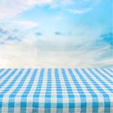 Picnic. Kitchen cloth product tablecloth display summer Royalty Free Stock Photo