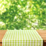 Picnic. Kitchen cloth product tablecloth display summer Royalty Free Stock Photography