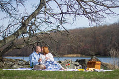 Picnic Lovers Royalty Free Stock Image