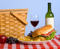Picnic Lunch royalty free stock photography