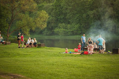 Picnic in the nature Stock Image